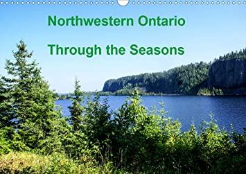 Northwestern Calendar 2021 Amazon.: Northwestern Ontario Through The Seasons (Wall