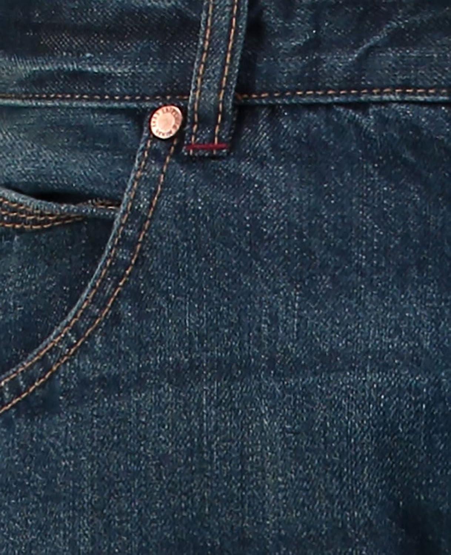 Industrialize Men Blue Mid Stone Washed Slim Fit 5 Pockets Denim Jeans