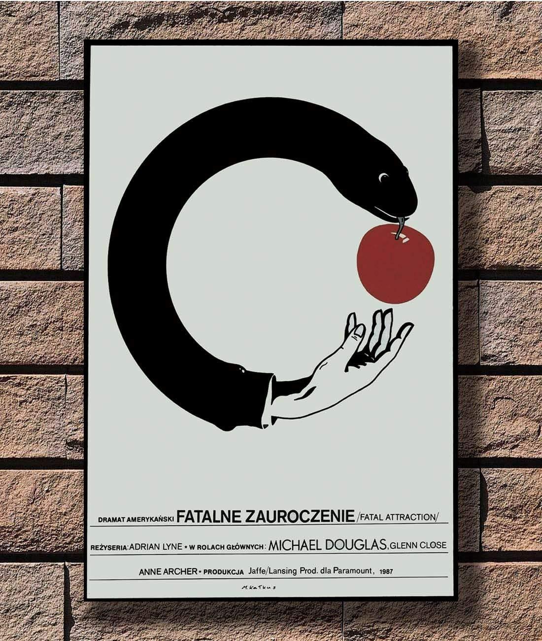 Kuvahaun tulos haulle polish movie posters fatal attraction