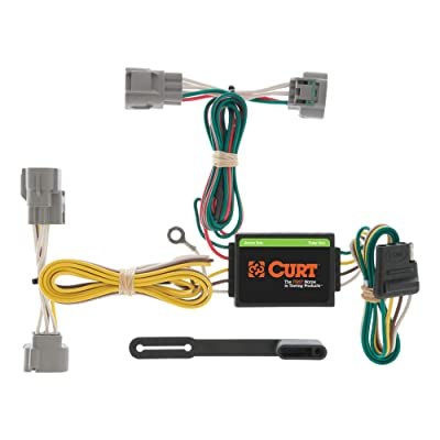 CURT 55513 Vehicle-Side Custom 4-Pin Trailer Wiring Harness for Select Toyota T-100 Pickup, Toyota Tacoma: Automotive
