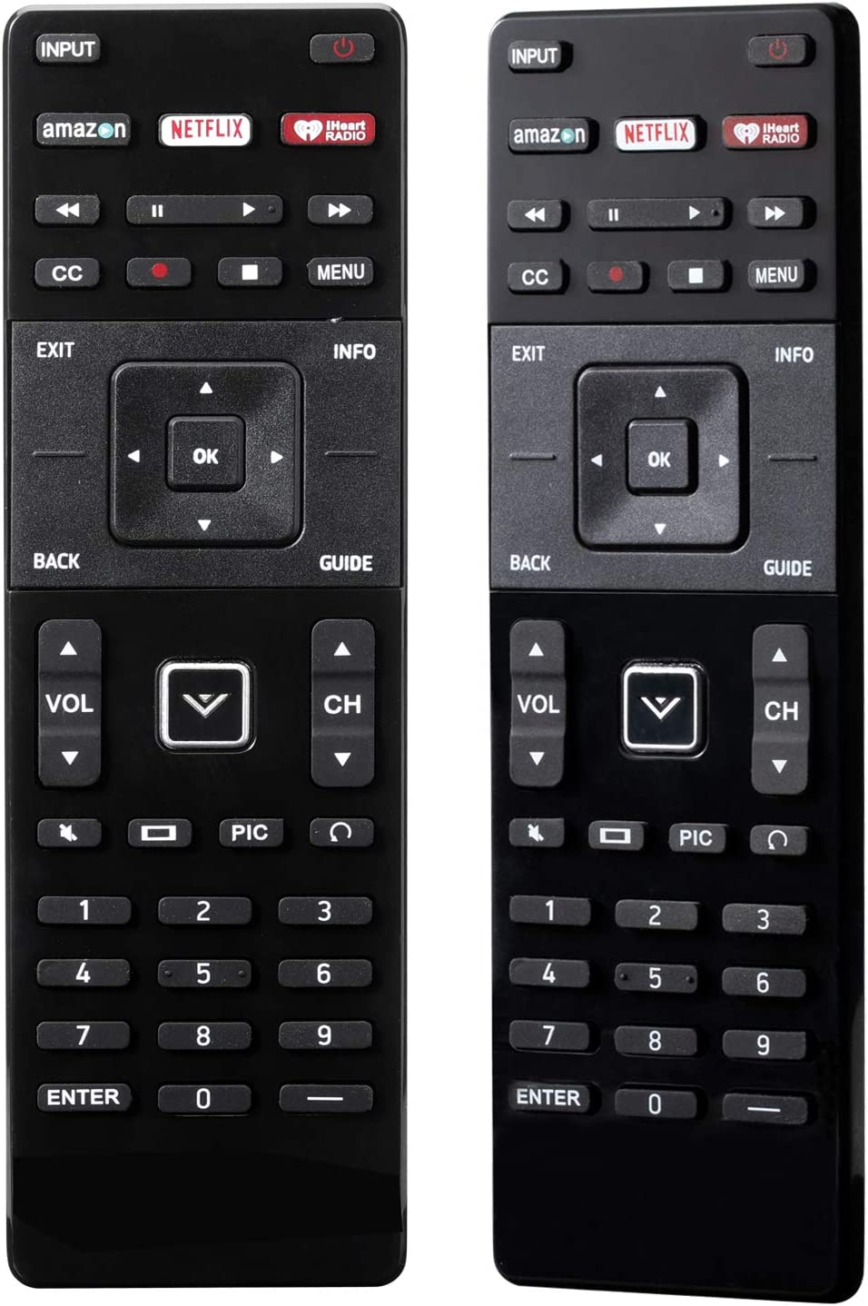 XRT122 Universal Replacement Remote Control for All Vizio E-Series D-Series LED HDTV Smart TV: Home Audio & Theater
