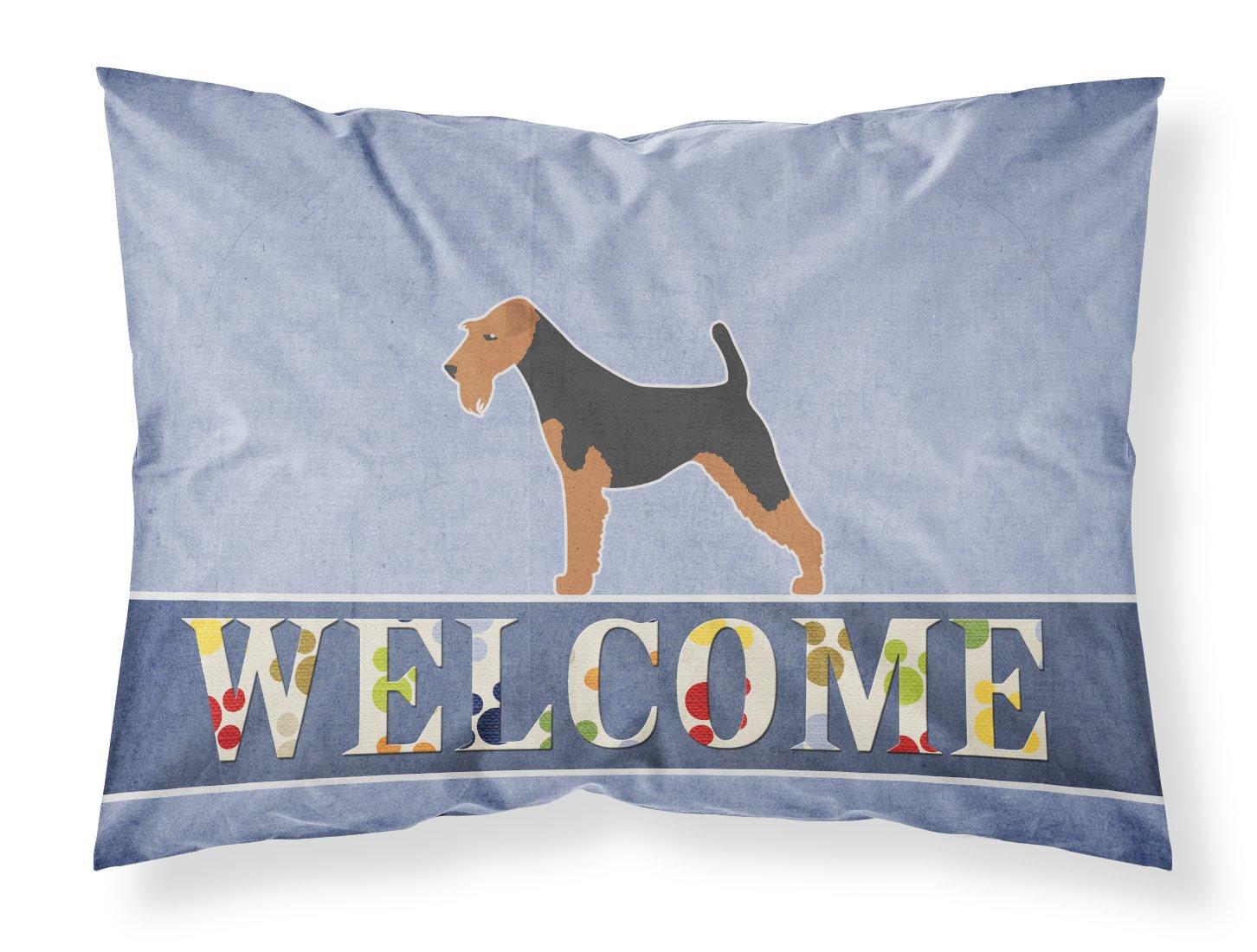 Carolines Treasures Grand Basset Griffon Vendeen Welcome Pillowcase Standard,