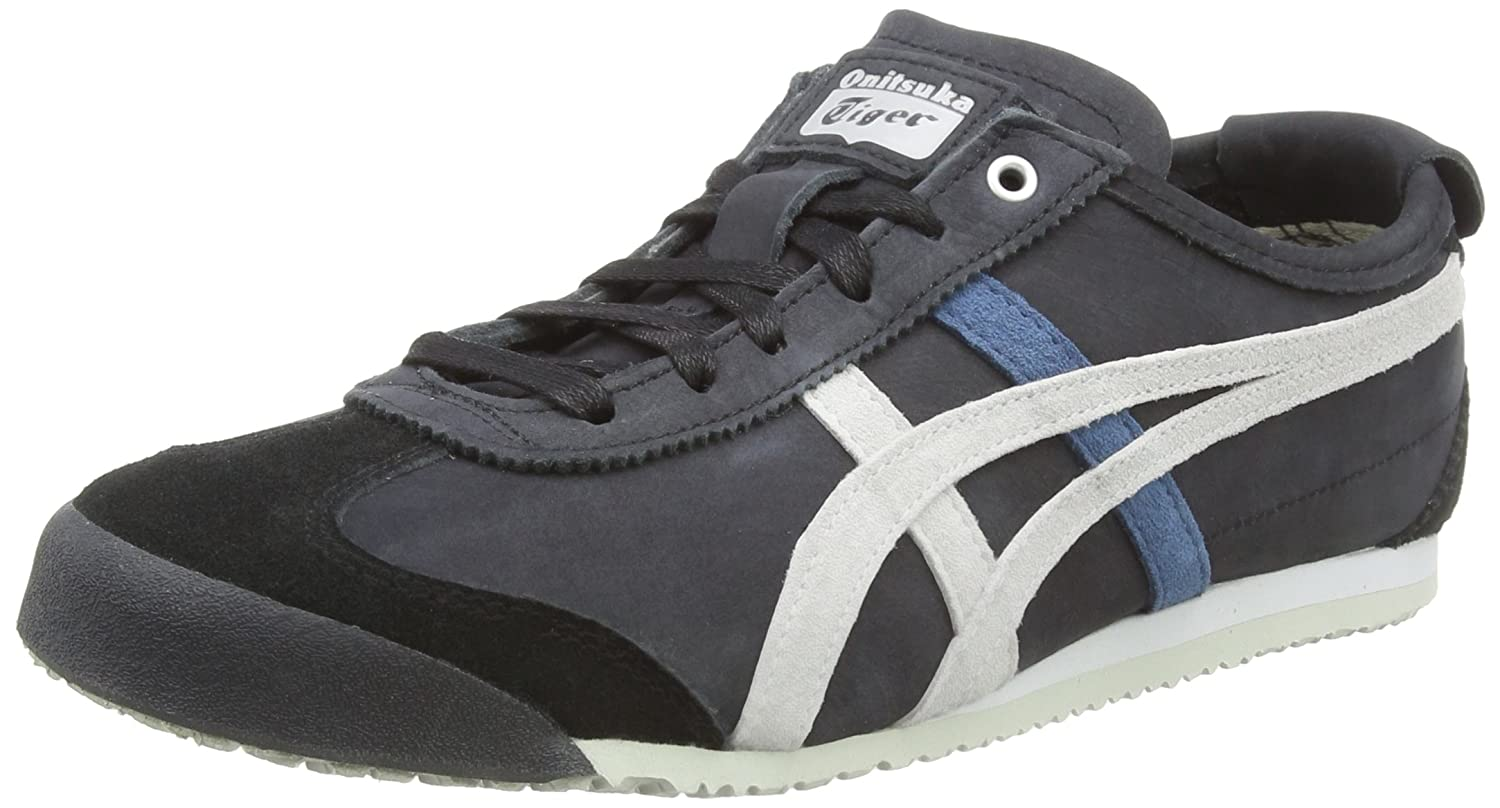 Multicolour (Black Glacier Grey 9096) Onitsuka Tiger Unisex Adults' Mexico 66 Running shoes