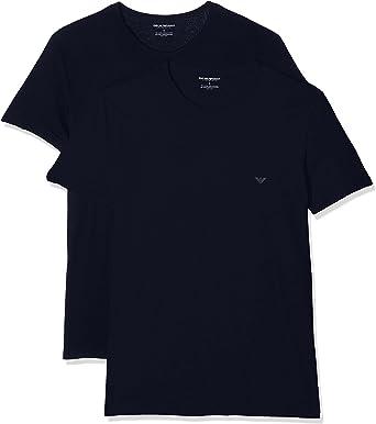 Emporio Armani Camiseta Interior (Pack de 2) para Hombre: Amazon.es: Ropa y accesorios