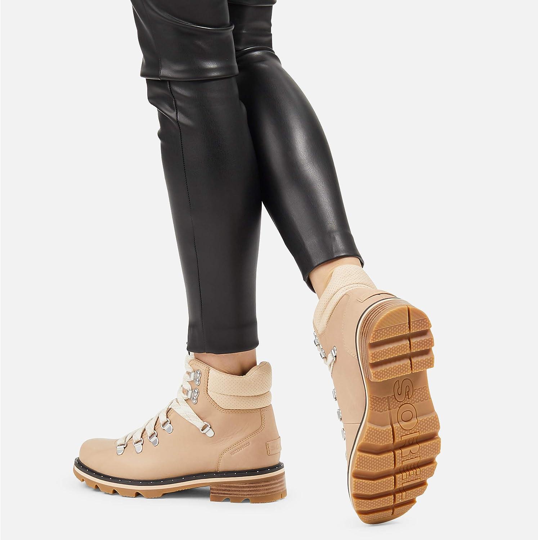 Honest Beige Sorel Womens Lennox Hiker Boot Waterproof Rain