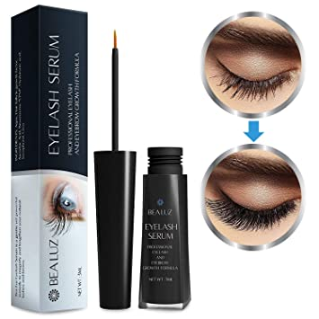 076c341c065 Eyelash Growth Enhancer & Brow Serum for Long, Luscious Lashes Enhancer  Primer for Longer Thicker