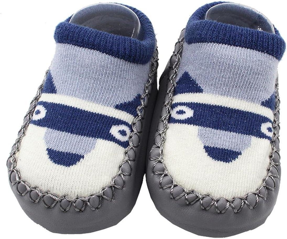 LNGRY Cartoon Toddler Baby Girl Boy Anti-Slip Floor Socks Slipper Shoes Boots
