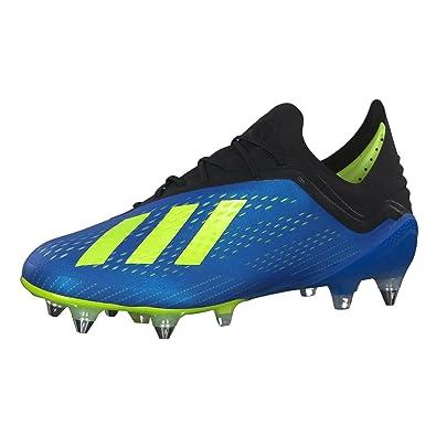 new style 4705e 4a7dc adidas Men's X 18.1 Sg Footbal Shoes, Blue Fooblu/Syello ...