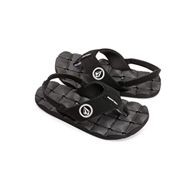 49a33bfe33de Volcom Boys  Little Youth Recliner Sandal