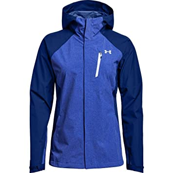 Under Armour Outerwear mujer 180 Paclite 2.5L carcasa sudadera con capucha, mujer, Formation Blue/Oxford Blue, XS: Amazon.es: Deportes y aire libre