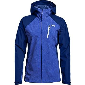 Under Armour Outerwear mujer 180 Paclite 2.5L carcasa sudadera con capucha, mujer, Formation Blue/Oxford Blue, XS: Amazon.es: Deportes y aire libre