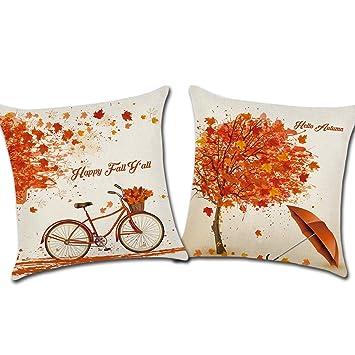 Amazon.com: CARRIE HOME - Funda de cojín para sofá de cama ...