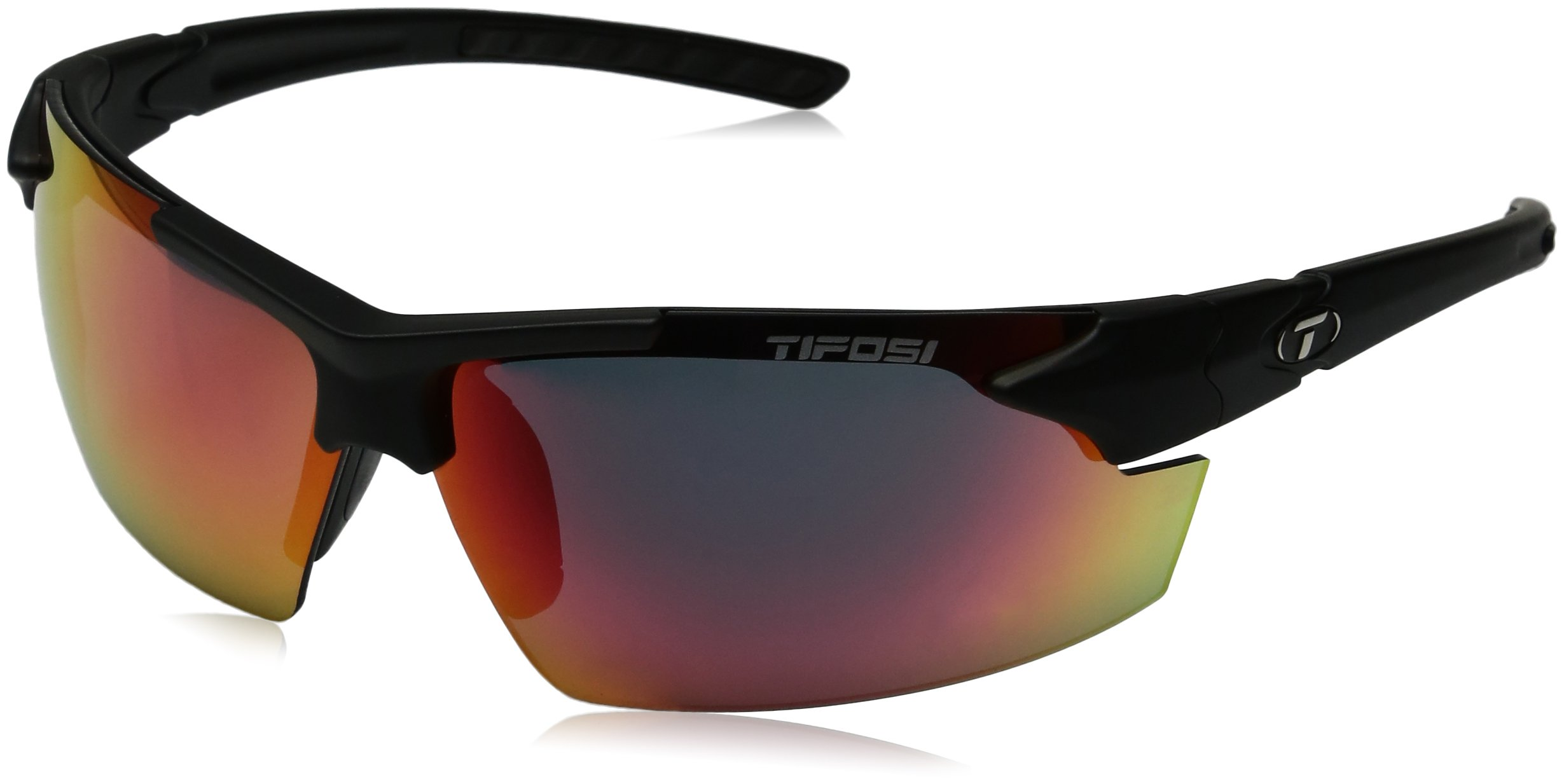 Tifosi Golf Jet Fc Wrap Sunglasses, Matte Black, Regular