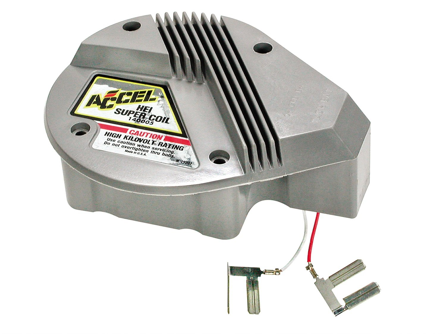 ACCEL 140005 HEI Red and White In-Cap Super Coil nobrandname ACC 140005