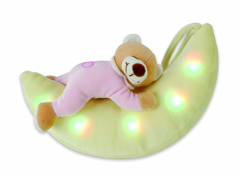 spielzeug b r mondlicht einschlafhilfe kuscheltier baby schlummerlied musik bett ebay. Black Bedroom Furniture Sets. Home Design Ideas