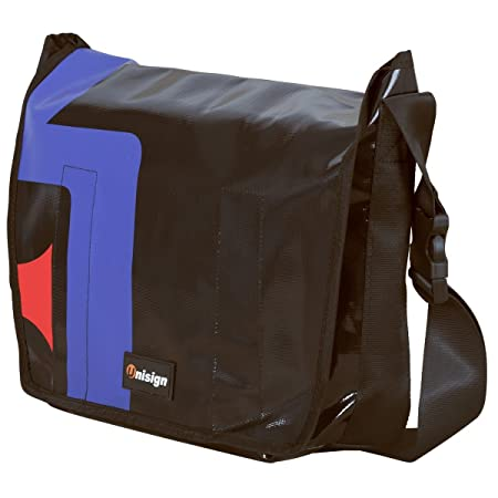 2060efeb050 Unisign Messenger Courier shoulder cross body Bag made of Truck Tarpaulin   Amazon.co.uk  Luggage