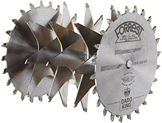 product image for Forrest DK10244G Dado King 10-Inch 24/4 Tooth 29/32-Inch Kerf Saw Blade with 1-Inch Arbor