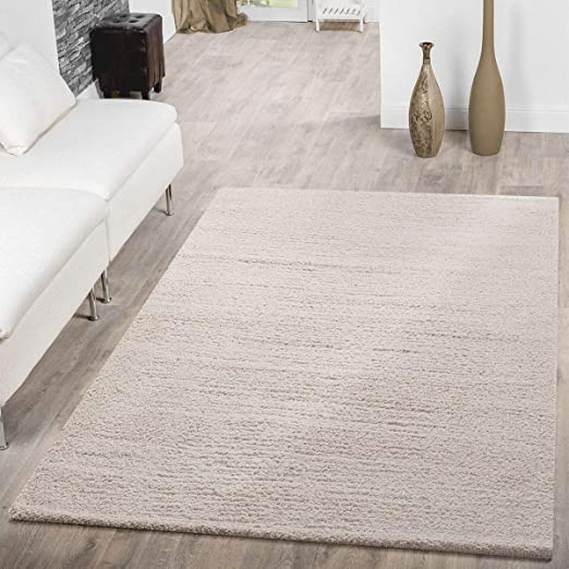 T T Design Shaggy Rug Deep Pile Modern One Colour Snug Soft Living