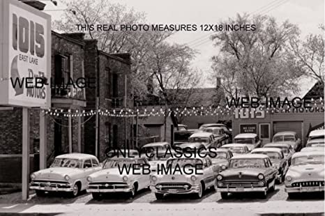 Amazon Com Onlyclassics 1956 Used Car Auto Dealer Lot Mpls Mn 12x18 Photo Buick Olds Chevrolet Ford Auto Posters Prints
