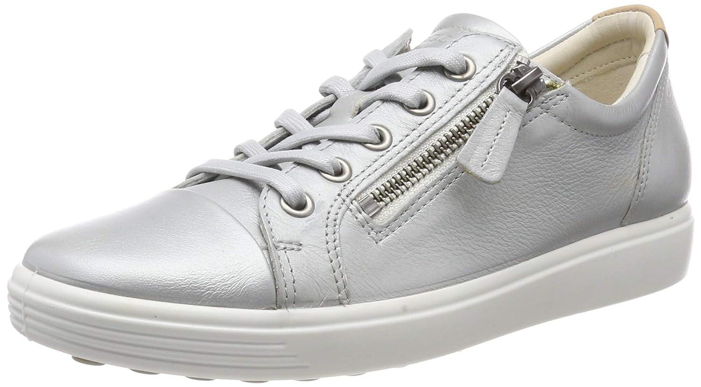 attraktive Mode suche nach echtem Qualität zuerst ECCO Women's Soft 7 Ladies Low-Top Sneakers, (Concrete Metallic 51382), 5 UK