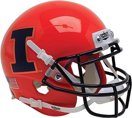 ILLINOIS FIGHTING ILLINI NCAA Schutt AiR XP Full Size AUTHENTIC Football Helmet