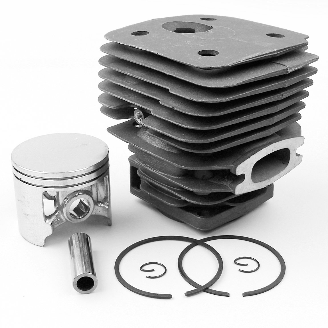 Haishine 56mm Cylinder Head Piston Kit Fit Husqvarna 395 XP 395XP 503993971 Chainsaw Engine Motor Parts 13mm Pin by Haishine