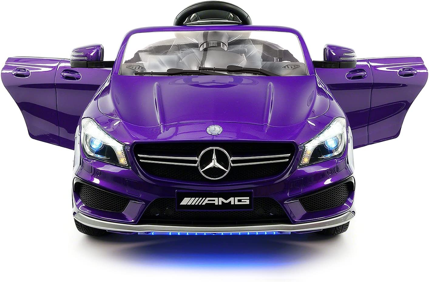 amazon com 2018 12v mercedes cla45 electric powered battery operated led wheels kids ride on toy car with parental remote control toys games 2018 12v mercedes cla45 electric powered battery operated led wheels kids ride on toy car with parental remote control