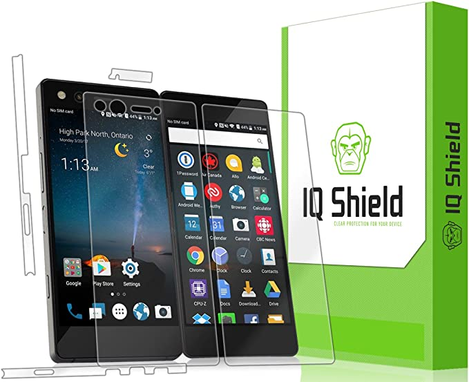 J/&D 4-Pack ZTE Axon M Premium HD Clear Screen protector Not Full Coverage