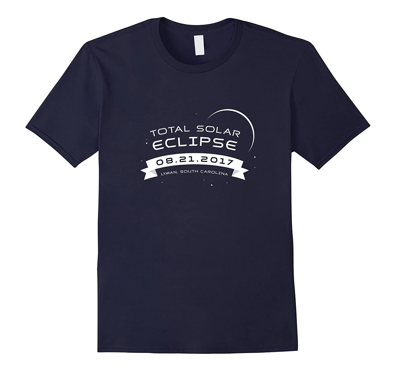 Total Solar Eclipse 2017 Shirt Lyman South Carolina-Vaci
