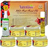 NutriGlow AHA Fruit Facial Kit 300g With Alpha Hydroxy Acids & Anti Oxidants