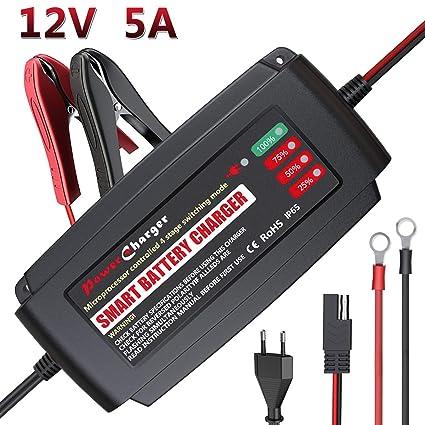LEICESTERCN 12V cargador de batería de automóvil Cargador ...