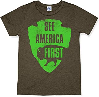 product image for Hank Player U.S.A. See America First Men's T-Shirt