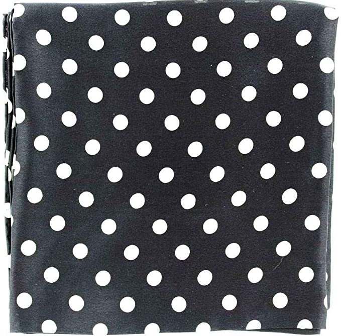 415450f678b9c7 Amazon.com: M & F Western Men's Polka Dot Wild Rag Black One Size: Clothing