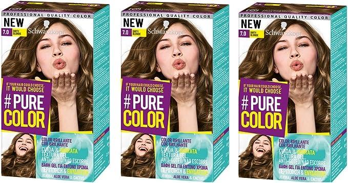 Schwarzkopf Pure Color Tinte Permanente 7.0 Smokey Blond ...