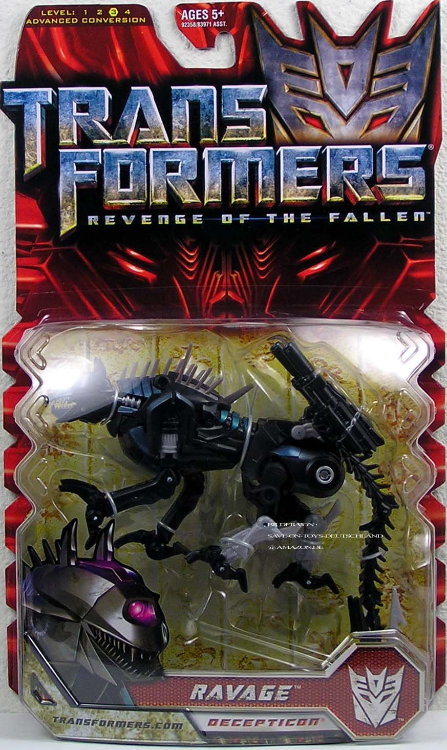 Transformers Movie 2 Deluxe: Ravage by Transformers