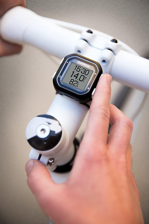 Black Garmin Edge 25 GPS Bike Computer