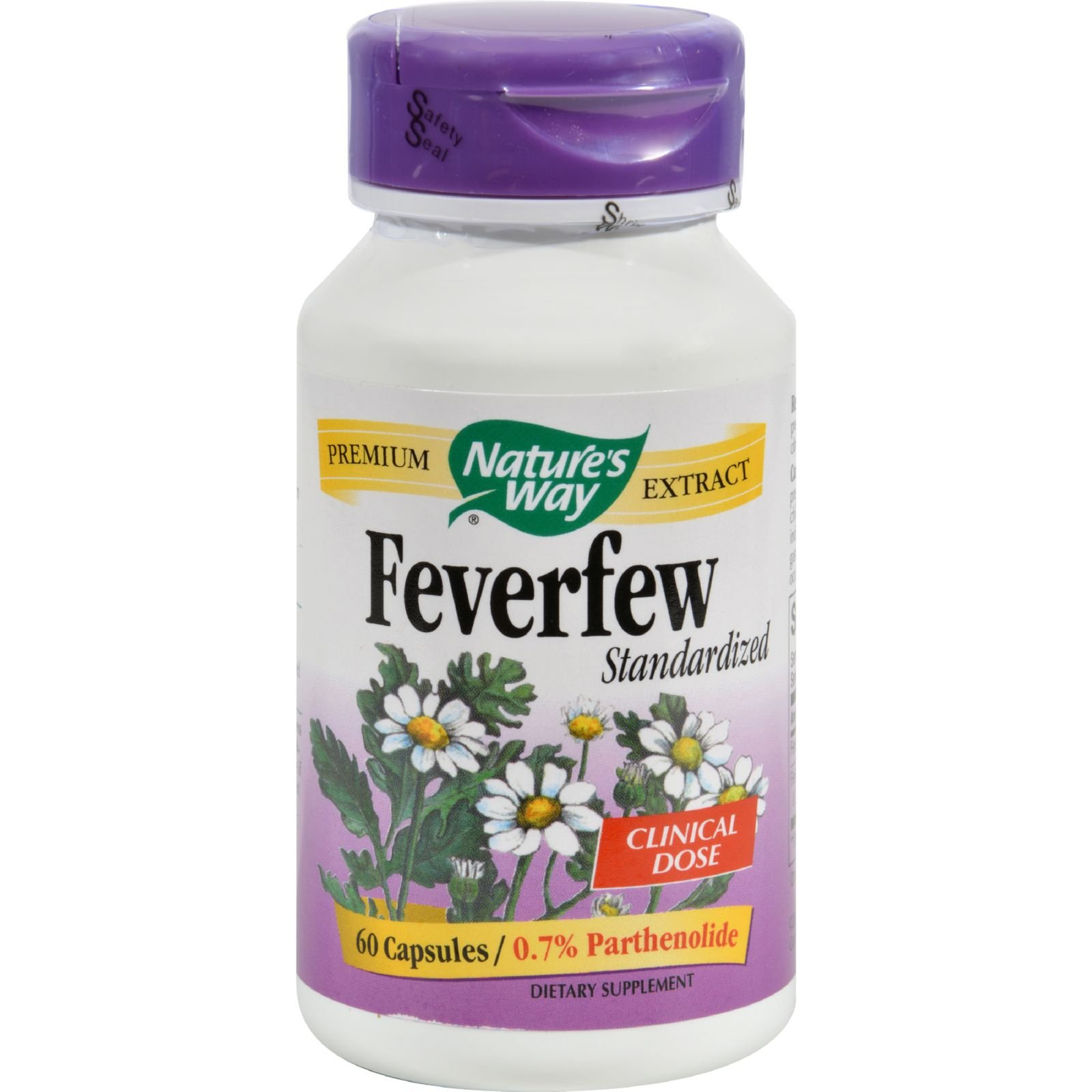 Feverfew Standardized Extract Nature's Way 60 Caps