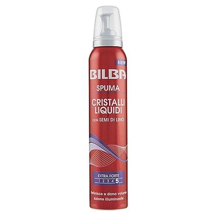 Bilba Spuma Extraforte Semi di Lino e Cristalli Liquidi - 200 ml   Amazon.it  Bellezza 4d9a4d99be4a