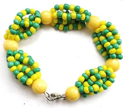 Amazoncom Ide De Orula Orunmila Glass Bead Santeria Mazo Yoruba