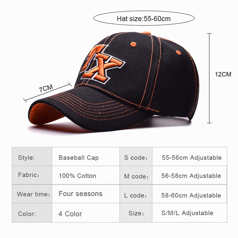 ANDERDM Fashion Mens Baseball Cap Women Hat Cotton Casual Caps Spring Summer Hat for Men Women Caps