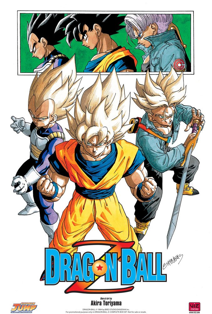 manga dragon ball z