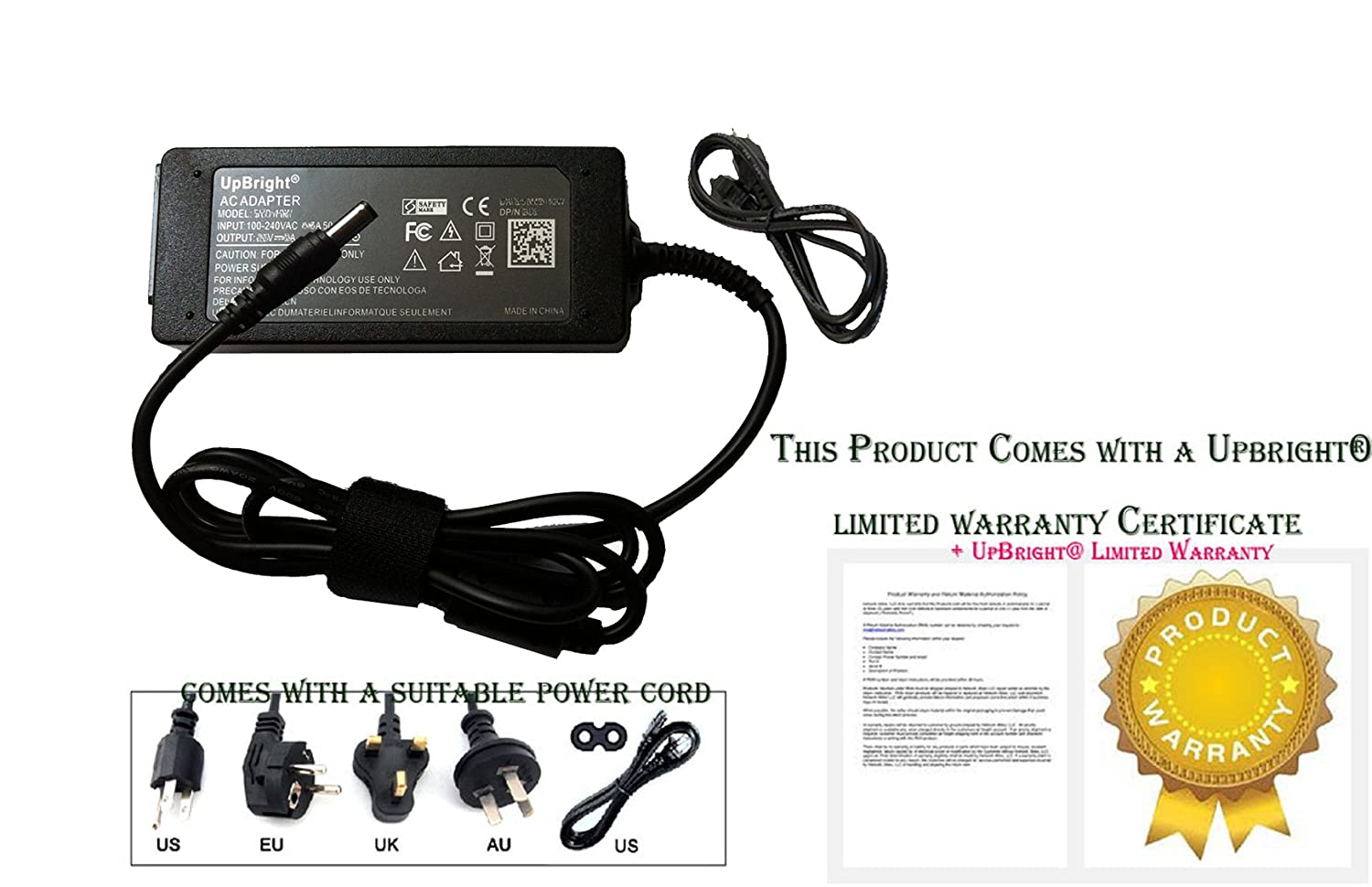 Amazon.com: UpBright 12V AC / DC Adapter For 2Wire 3800HGV 33600HGV ...