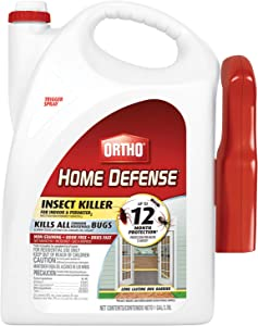 Ortho 0220810 Home Defense Insect Killer for Indoor & Perimeter2 Ready-to-Use, 1 GAL, V