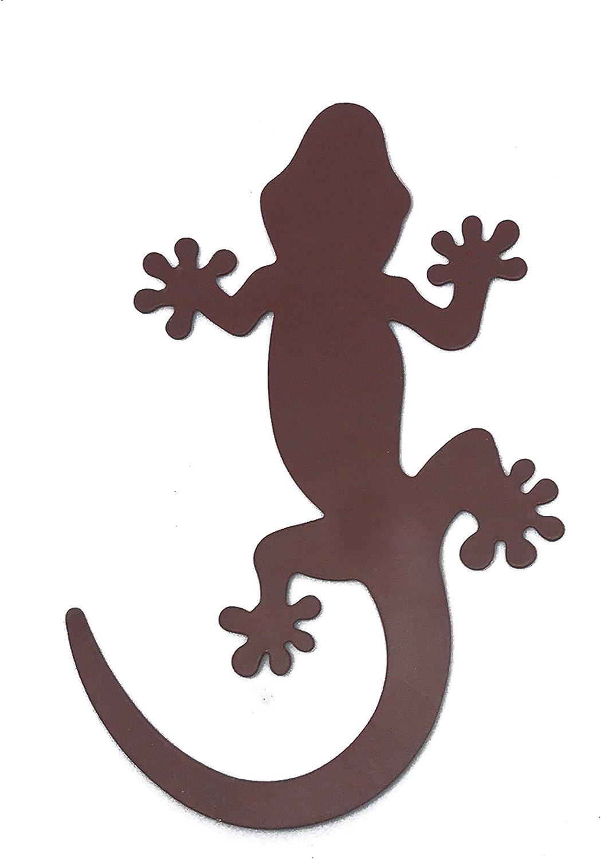 Sonoran Souvenirs Gecko Metal Screen Door Saver Magnet for Sliding Door Lanai Screen Patio Heavy Duty Magnet