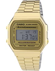 Casio Collection Unisex Retro Armbanduhr A168WG