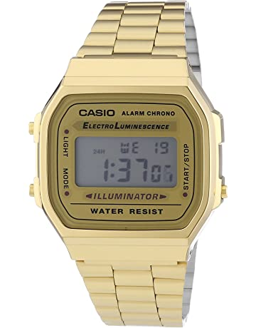 2d3a0f8a8377 Casio Reloj Unisex Collection A168WG