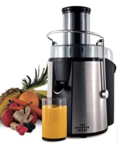 The Sharper Image 8021SI Stainless-Steel 700-Watt Super Juicer