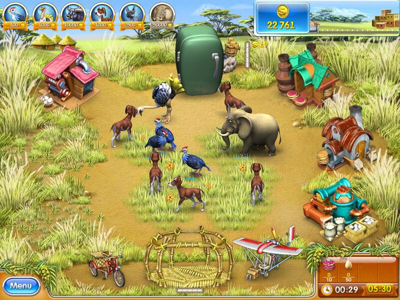 Amazon com: Farm Frenzy 3: Madagascar [Download]: Video Games