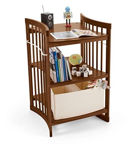 Stokke Convertible Changing Table Care Walnut Brown Amazon Co Uk