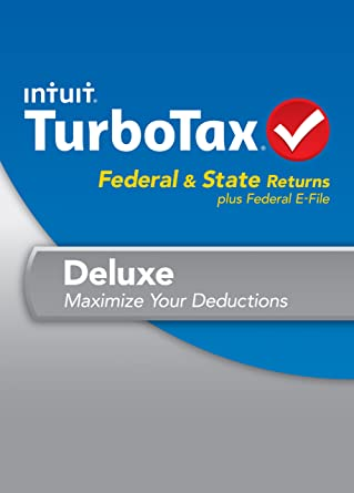 amazon com turbotax deluxe fed efile state 2013 old version